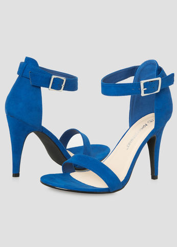 Suede Shoes-Blue Shoes-Estrella Fashion Report-Sandals