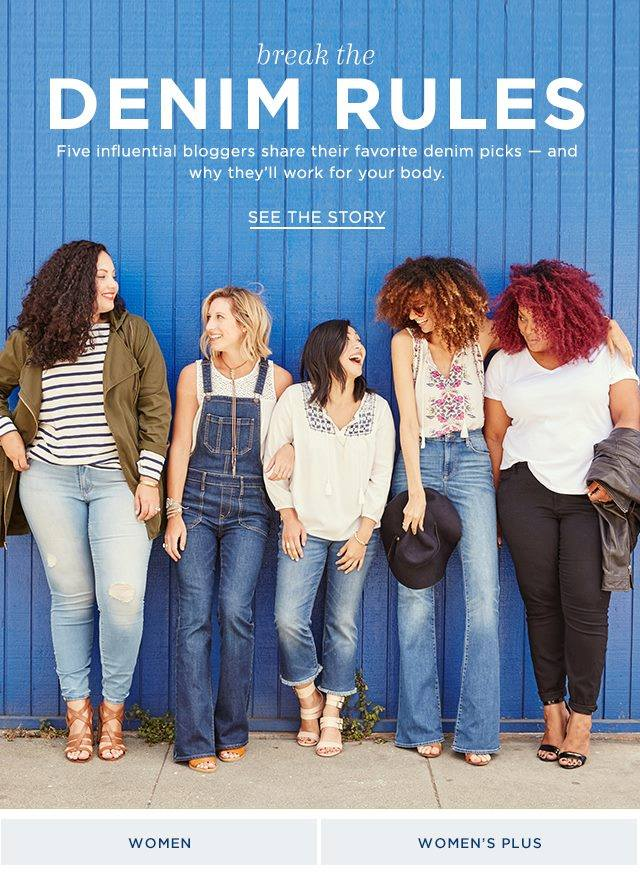 Old Navy-Estrella Fashion Report-Plus Size Denim-Jeans Campaigns