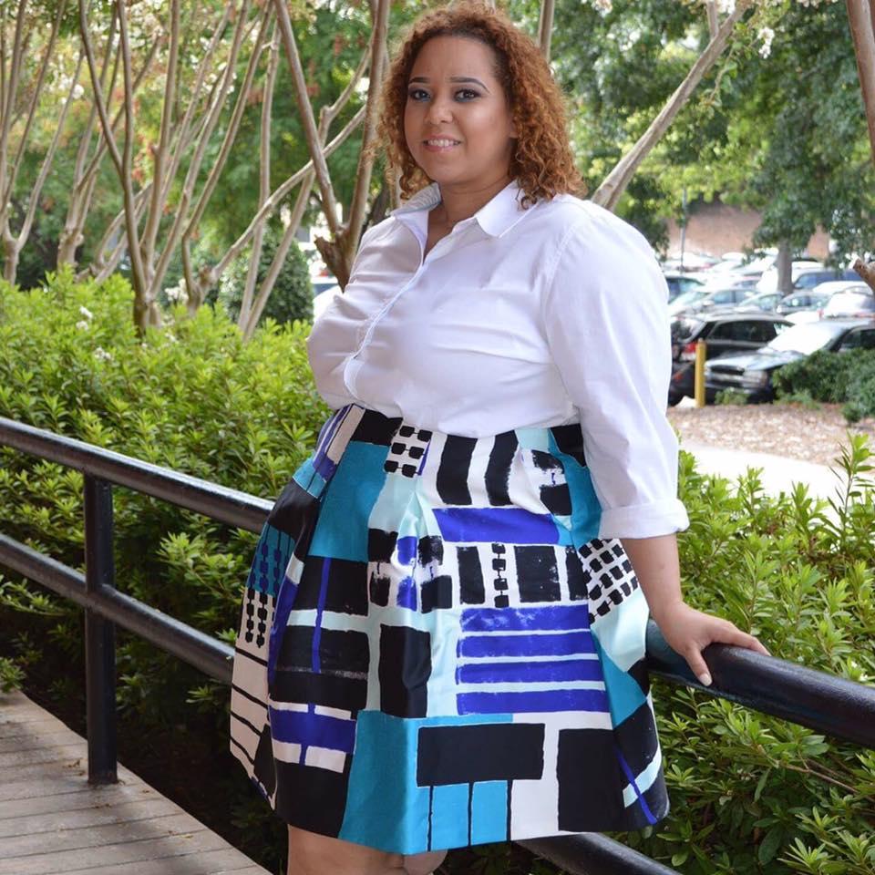 Farrah Estrella-Estrella Fashion Report -Lane Bryant