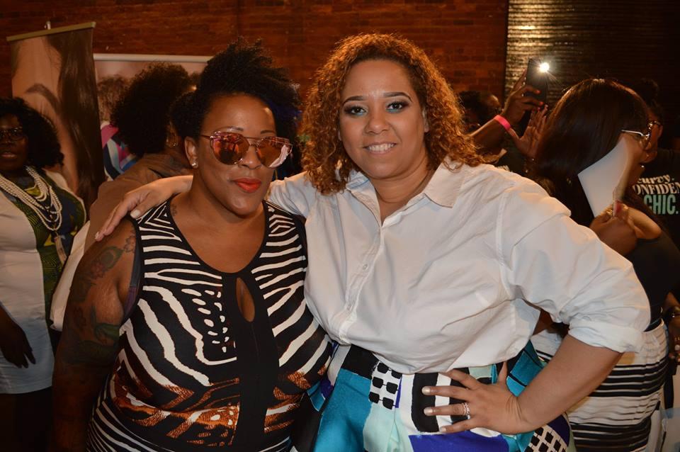 Singer Frenchie Davis and Fashion Blogger Farrah Estrella