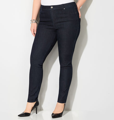Plus Size Jeans-Avenue-Legging Jean-Estrella Fashion Report
