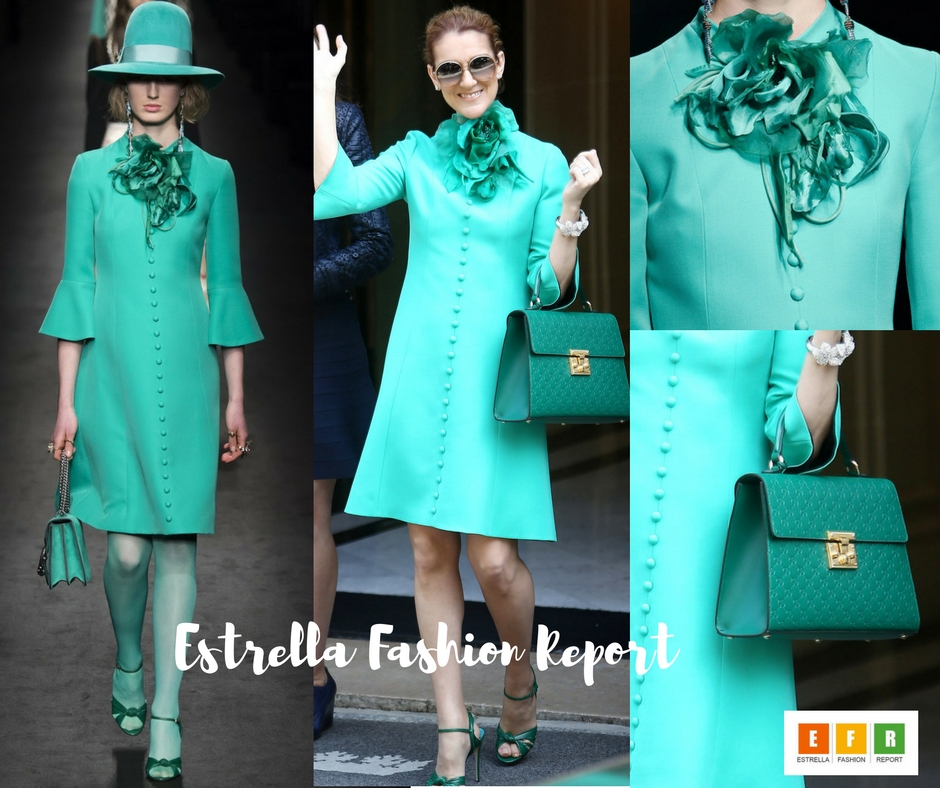Estrella Fashion Report-Celine Dion-Gucci-Celebrity Style