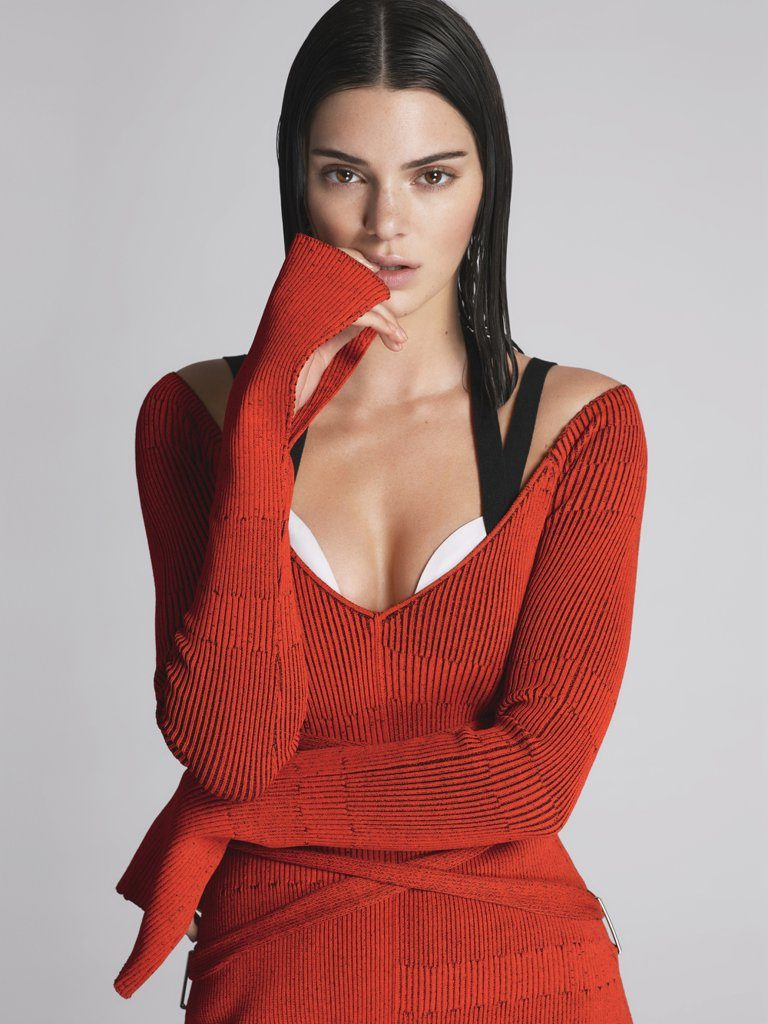 Kendall-wearing-Proenza-Schouler-dress-Kendall Jenner-Vogue Cover-Estrella Fashion Report