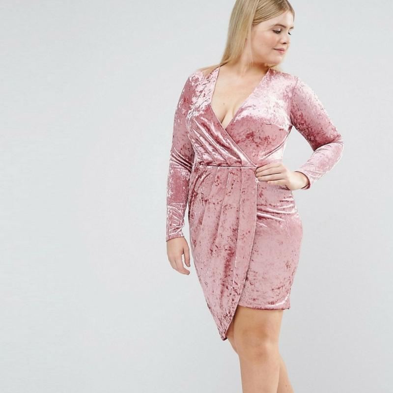 Velvet-Velvet Dresses-Plus Size Velvet Dresses-