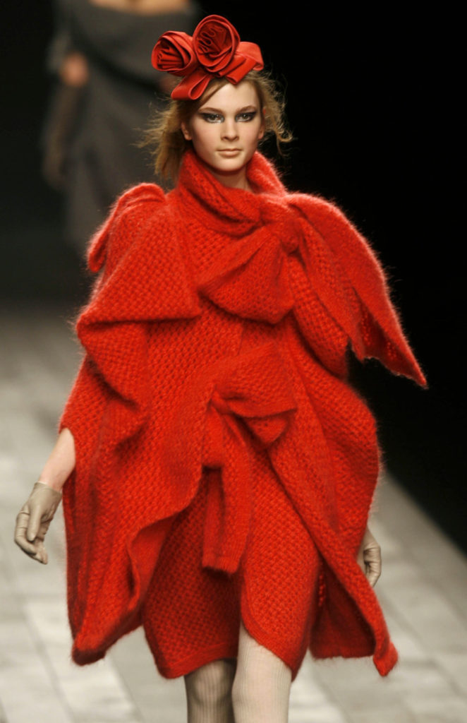 Photo by REX/Shutterstock Model on the catwalk Sonia Rykiel show for Autumn / Winter 2007 / 2008, Paris Fashion Week, France - 02 Mar 2007