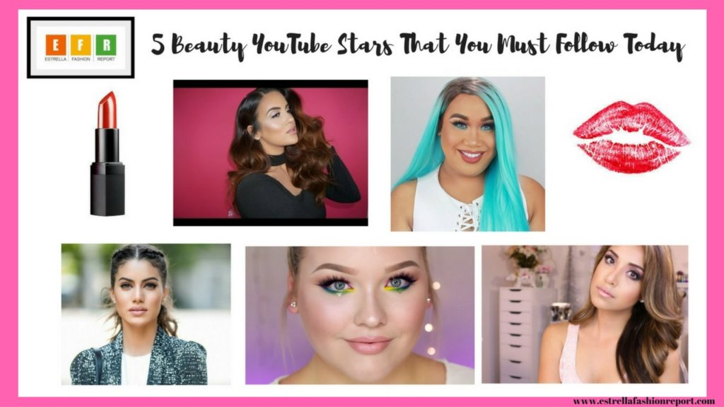 Youtubers-YouTube Stars-Makeup YouTubers-Estrella Fashion Report