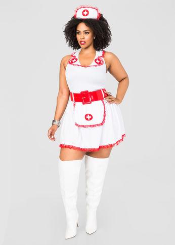 Plus-Size-Nurse-Costume-Estrella-Fashion-Report-Ashley-Stewart
