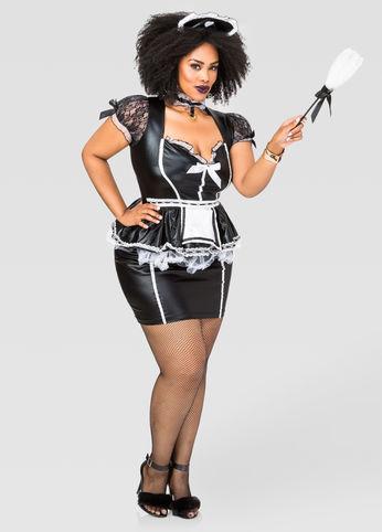 Sexy-Maid-Costume-Estrella-Fashion-Report-Ashley-Stewart-