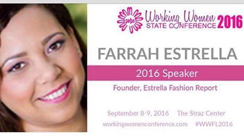 Farrah Estrella-Estrella Fashion Report-WWC2016-