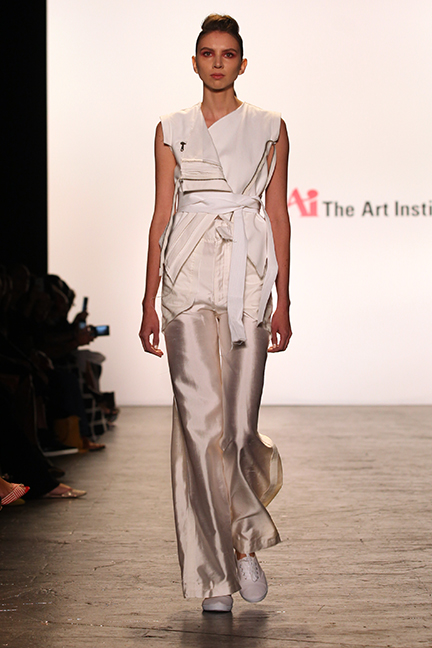 Julissa Arrington-Art Institutes-NYFW-Estrella Fashion Report