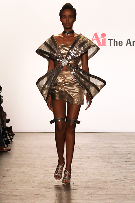 Mimmy Begazo-NYFW-Art Institutes-Estrella Fashion Report