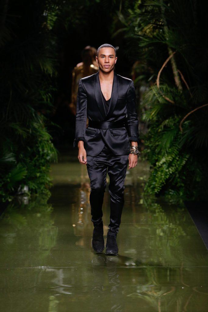 Olivier-Rousteing- Balmain-Paris-Fashion-Week-Estrella-Fashion-Report