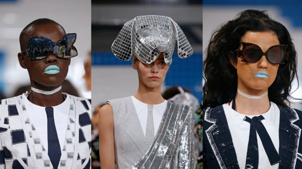 Thom Browne, Sunglasses, NYFW, Fashion Week, Estrella Fashion Report