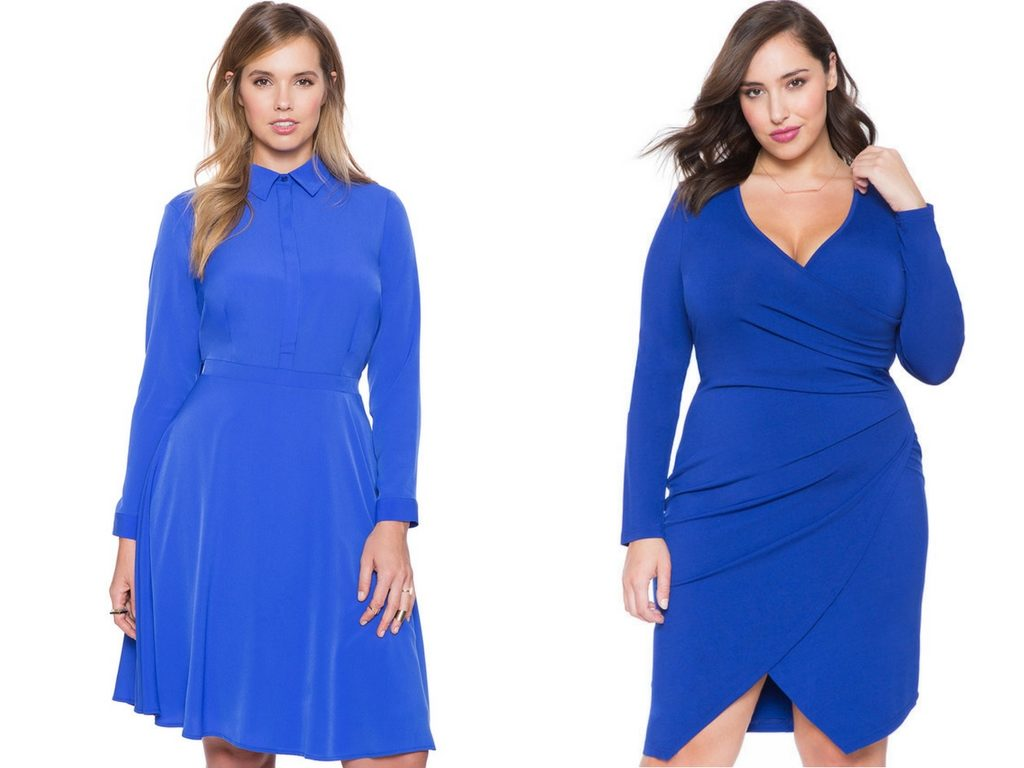 Blue Dress-Plus Size Dresses-Estrella Fashion Report-Eloquii