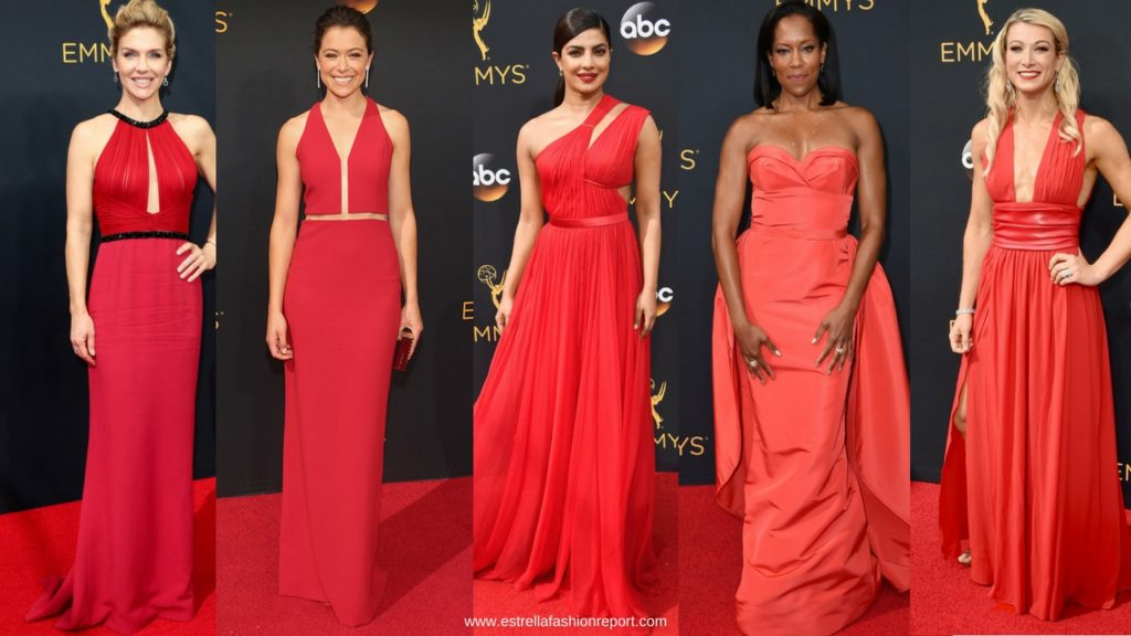 Estrella Fashion Report-Red Carpet-The Emmys-Emmy Awards-