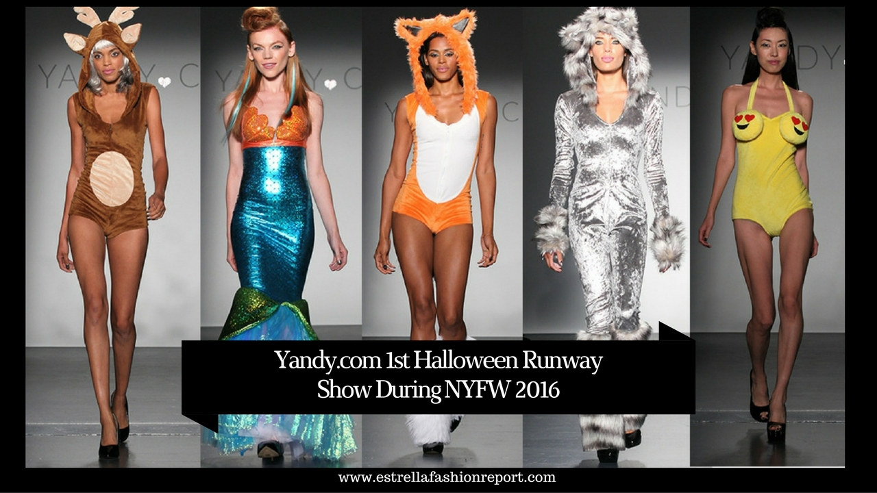 Yandy.com presented the first ever Halloween Runway Show during ...