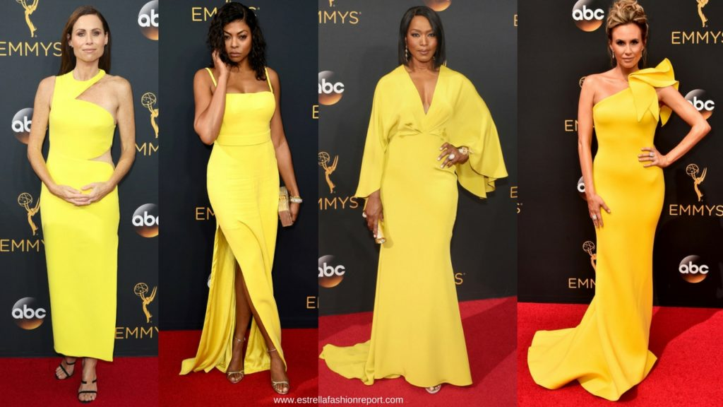 Estrella Fashion Report-Emmys-Emmy Awards-The Emmys-Red Carpet-Yellow Gowns-
