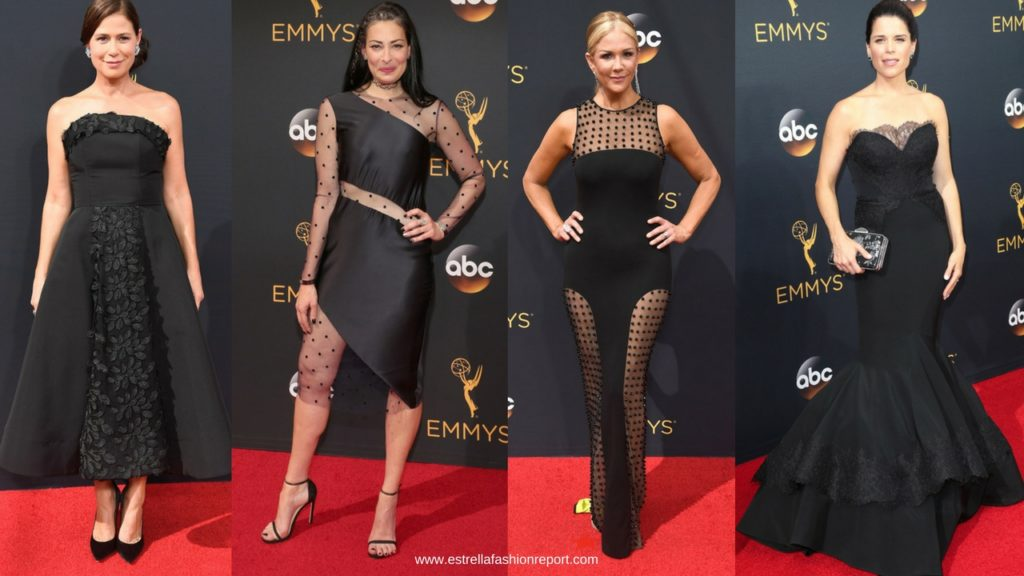 Emmy Awards-The Emmys-Red Carpet-Estrella Fashion Report-Black Gowns-