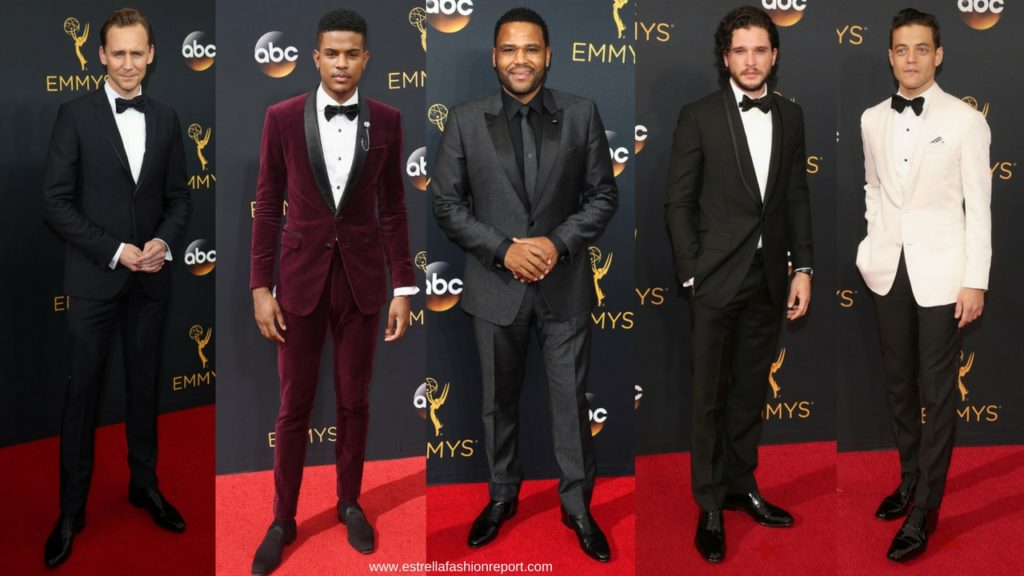 Estrella Fashion Report-The Emmys-Emmy Awards-Red Carpet-Tuxedos