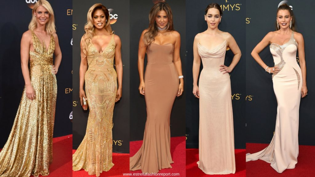 Estrella Fashion Report-The Emmys-Emmy Awards-Red Carpet-Gowns