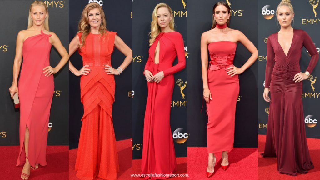 Estrella Fashion Report-The Emmys-Emmy Awards-Red Carpet-