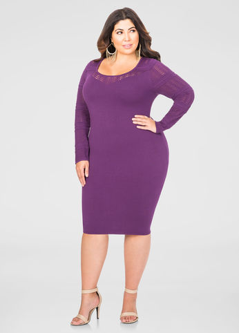 8 Super Cute Plus Size Sweater Dresses Estrella Fashion Report