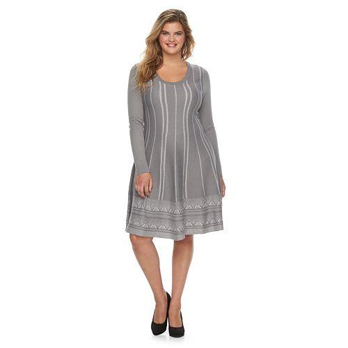8 Super Cute Plus Size Sweater Dresses Estrella Fashion Report