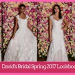 First look at David's Bridal Spring 2017 Lookbook