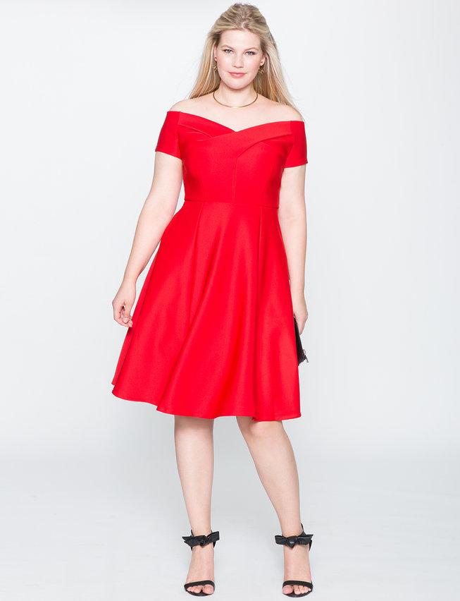 Red-Dress-Eloquii-estrella-fashion-report-Talla-Grande-Vestidos