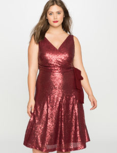 sleeveless-sequin-wrap-dress-