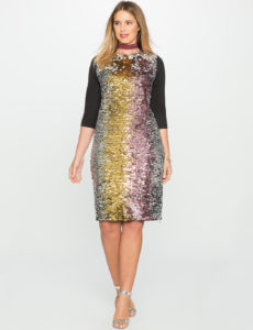 variegated-sequin-plus-size-dress