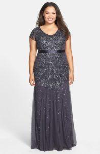gunmetal-adrianna-papell-beaded-dress