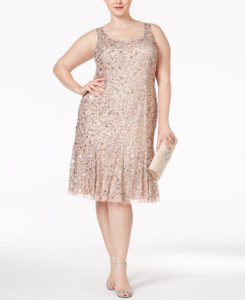 29fb8382d37 11 Sparkly Plus Size Dresses To Wear During The Holiday Season ...