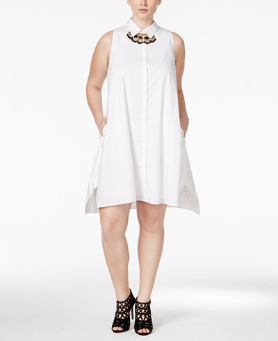 white-plus-size-shirtdress-macys-shopping-