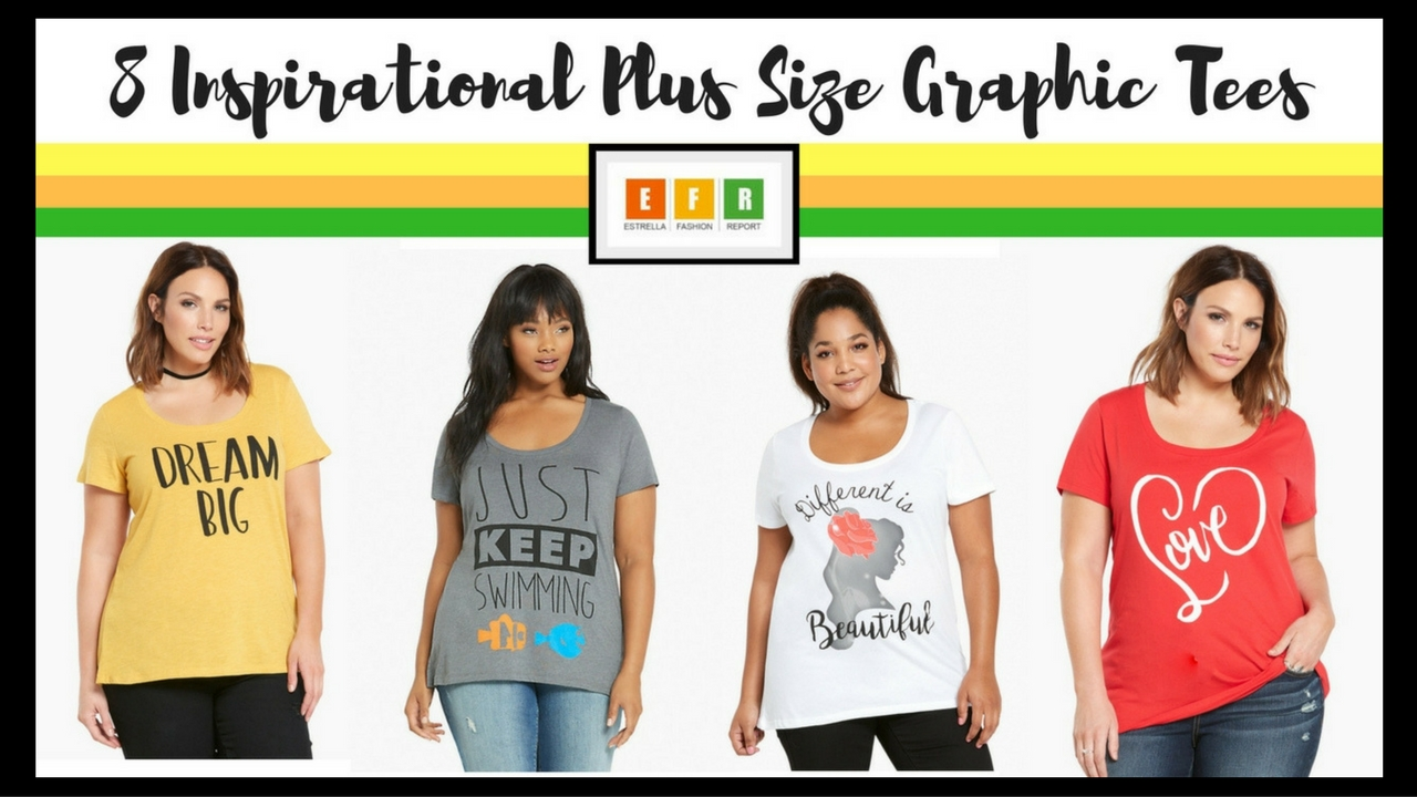 0d4c45daa2be8 8 Inspirational Plus Size Graphic Tees for Any Occassion – Estrella ...