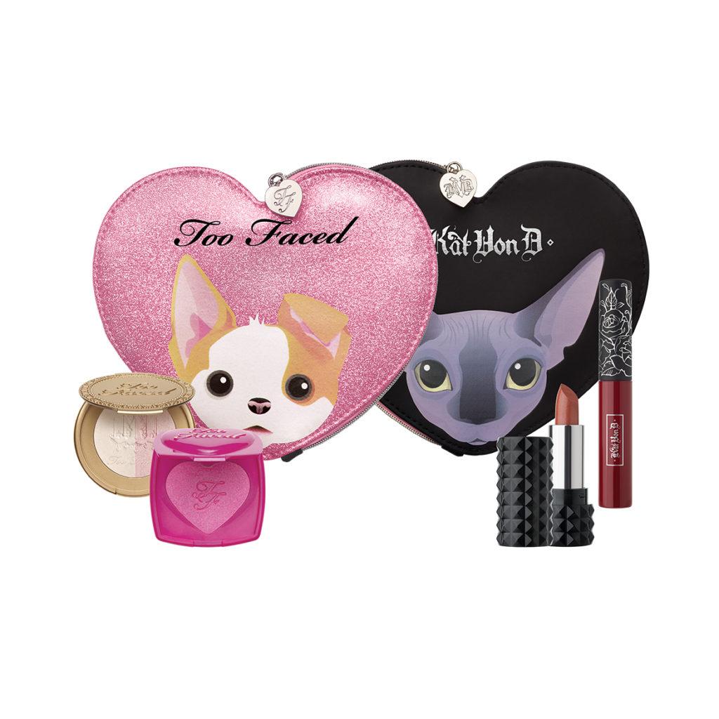 Too-Faced-x-Kat-Von-D-Better-Together-Cheek-&-Lip-Makeup-Bag-Set