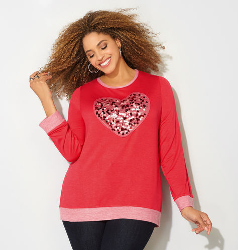 red-plus-size-tshits-avenue