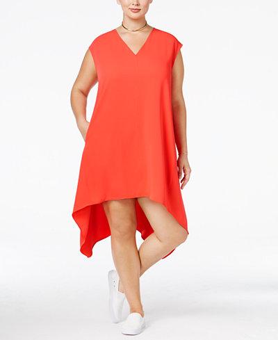 8 Plus Size Orange Dresses For Spring Estrella Fashion Report