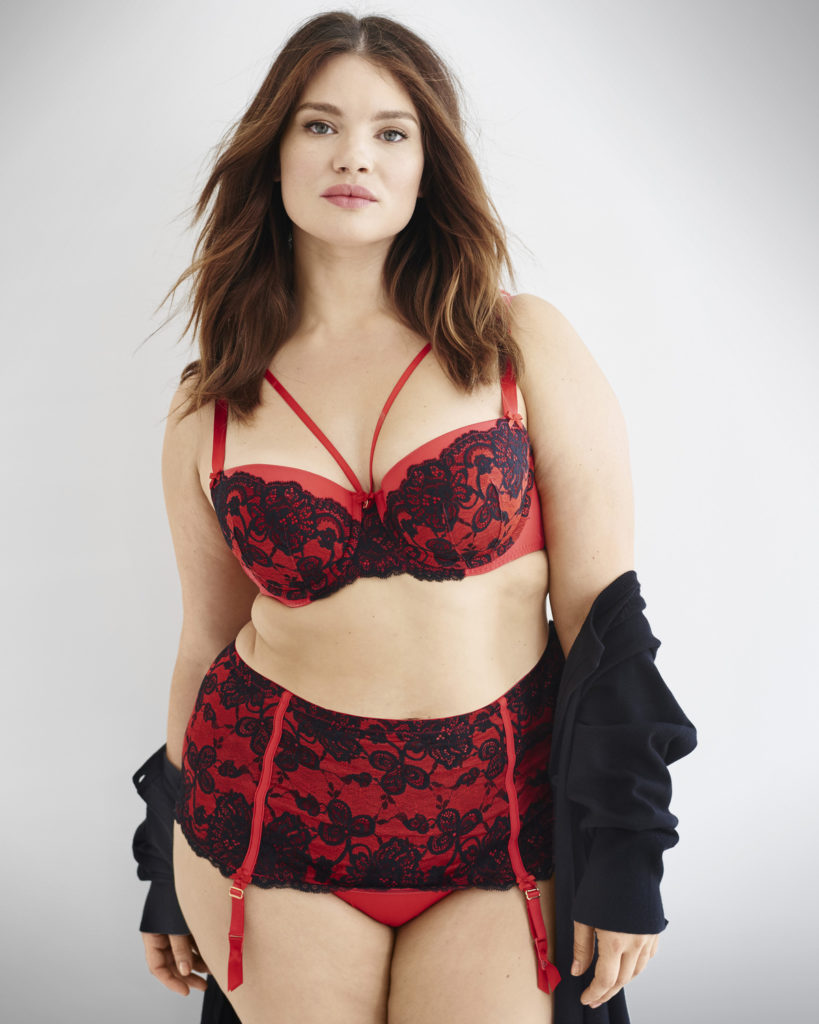 lane-Bryant-valentines-day-collection-plus-size-model-tara-lynn