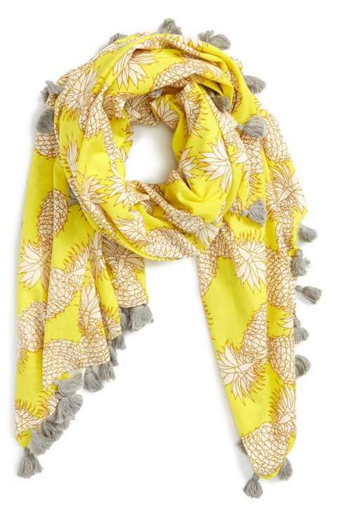 pineapple-printed-scarf-nordstrom