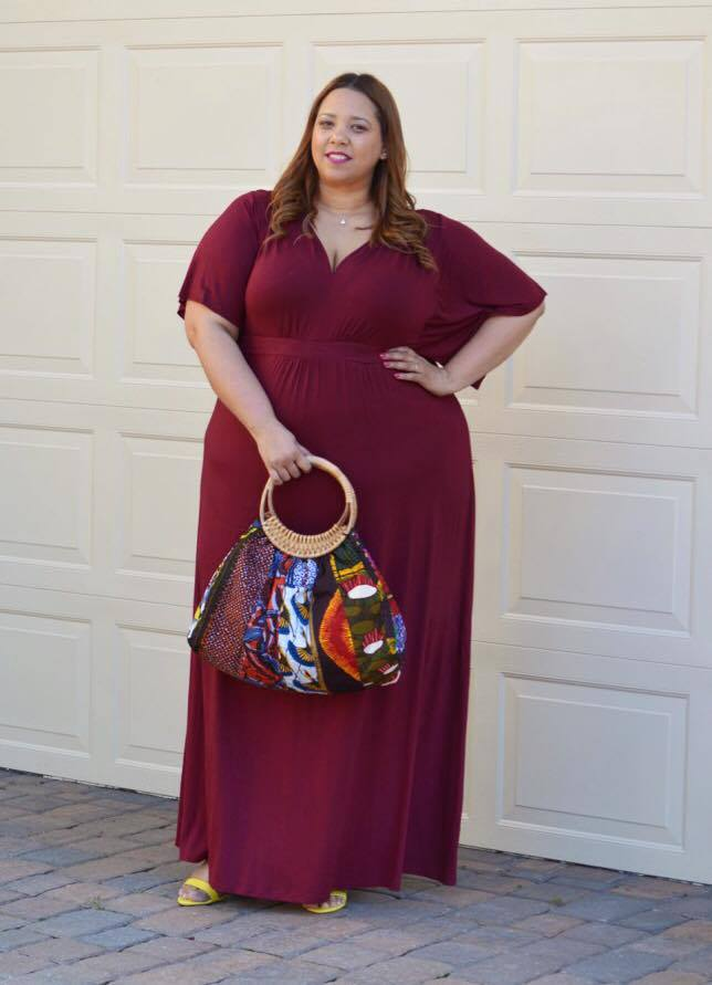Look Of The Day Kimono Style Maxi Dress Estrella Fashion Report