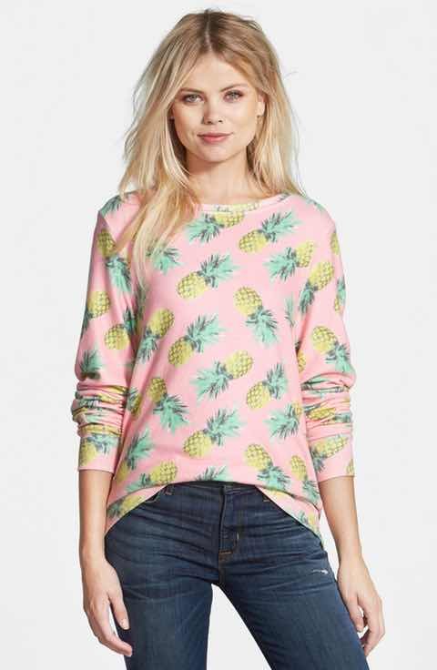 wildfox-pink-pineapple-sweatshirt