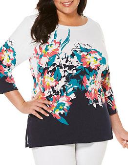 rafaella-plus-floral-print-tunic