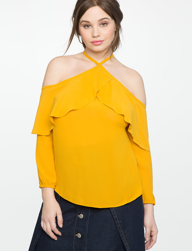 yellow-halter-neck-cols-shoulder-top-eloquii