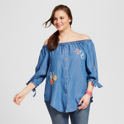 embroidered-off-the-shoulder-top-denim-blue-plus-size-target
