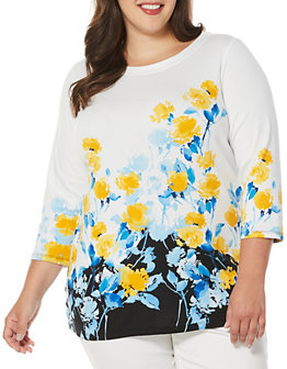 rafaella-plus-three-quarter-sleeve-boatneck-floral-tunic-lord-and-taylor