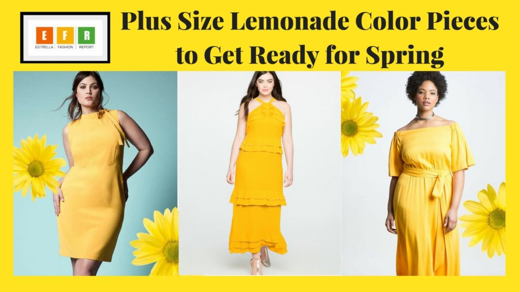 yellow-plus-size-dresses