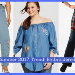 Spring/Summer 2017 Trend: Embroidered Denim