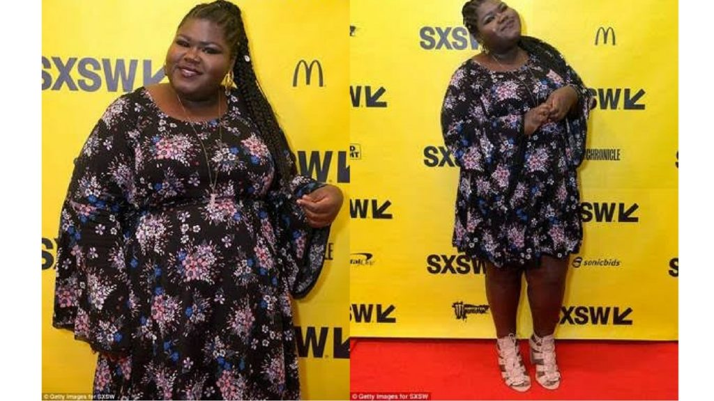 actress-Gabourey-Sidibe-wearing-torrid-at-SXSW