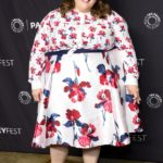Chrissy Metz in Prabal Gurung x Lane Bryant at PaleyFest in Los Angeles